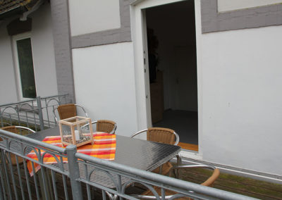 Stranddistel-Balkon