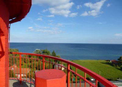 Hoch hinaus: Ausblick vom Leuchtturm Dahmeshöved