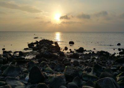 Für Frühaufsteher: Sonnenaufgang über der Ostsee