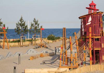 Für die Kinder: Spielplatz am Nordstrand